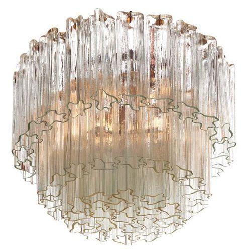 MURANO Lampadario composto da moduli in vetro soffiato a stampo Modular chandeli…