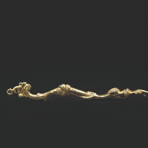 A silver gilt Torah pointer Galicia, mid 18th century This very elaborate model …