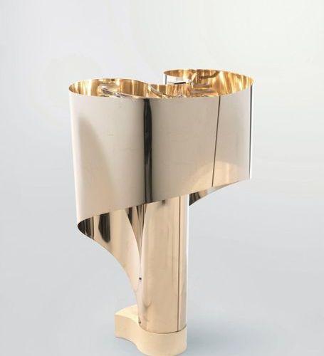 CONSTANTINO CORSINI & GIORGIO WISKEMAN (Xxè siècle) A « Spinnaker » lamp by Cons…