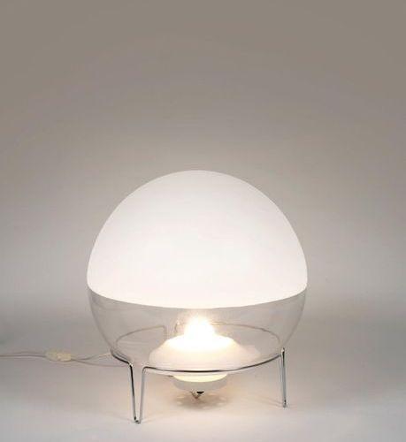 ANGELO MANGIAROTTI (1921 2012) A « Sfera » lamp by Angelo Mangiarotti in glass a…