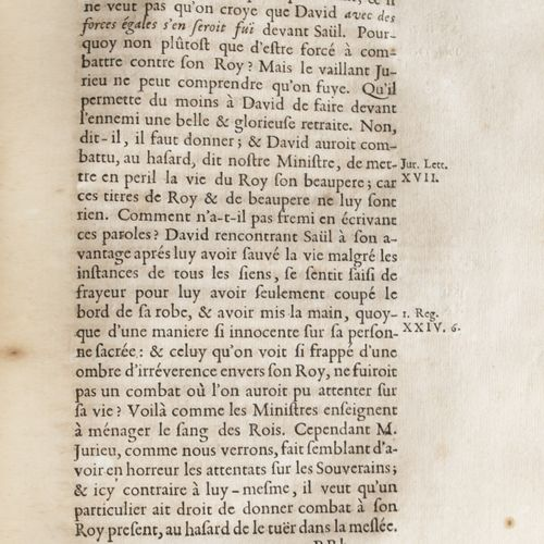 BOSSUET (Jacques Bénigne). First [ Fifth] warning to the Protestants on the lett…
