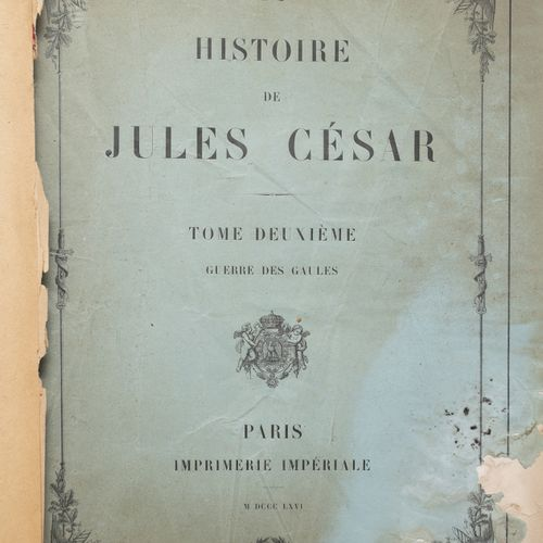 History of Julius Caesar, 2 vols. Dispatch from Napoleon to General Lebrun (?) (…
