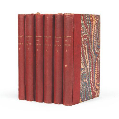 SAINTE BEUVE] TALLEMANT DES REAU X Historiettes. Levavasseur, 1834 1835 6 volume…