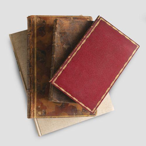Lot of antique books including BOSSUET (Jacques Benigne) Oraison funèbre de très…