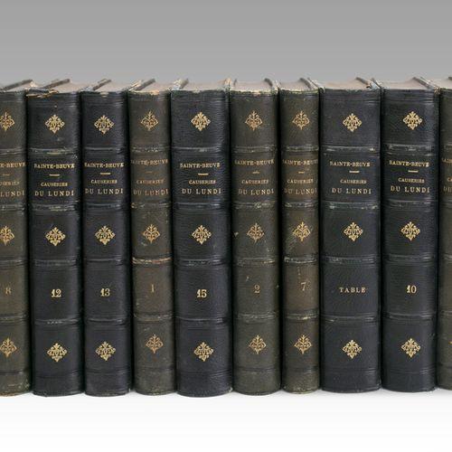 Lot of books including: PROUST (Marcel) Les Plaisirs et les Jours. Calmann Lévy,…
