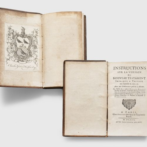 BOSSUET (Jacques Bénigne). Instructions on the version of the New Testament prin…