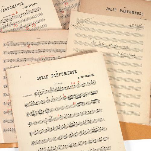 DÉSORMIÈRE (Roger). Important set of manuscript scores, some autograph. It inclu…