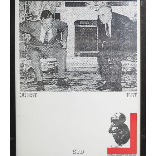 Roman Cieslewicz (1930–1996) Set di 4 fotomontaggi. H_30 cm L_22 cm (3) H_30 cm …