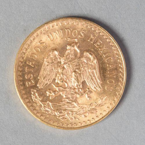 MEXIQUE  50 PESOS 1947  41 gr 66  SUP à FDC