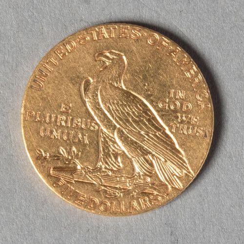 USA  5 DOLLARS 1911 S  8 gr 34  TB+