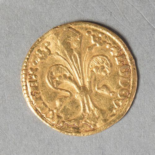 HONGRIE  LOUIS I 1342 /1382  Florin d or (986°/°°)  Réf FR 3 DM 1208  TB. Traces…