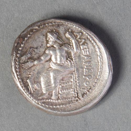 MACEDOINE et ROYAUME ALEXANDRE III (336 323)  TETRADRACHME en argent  17gr21   S…