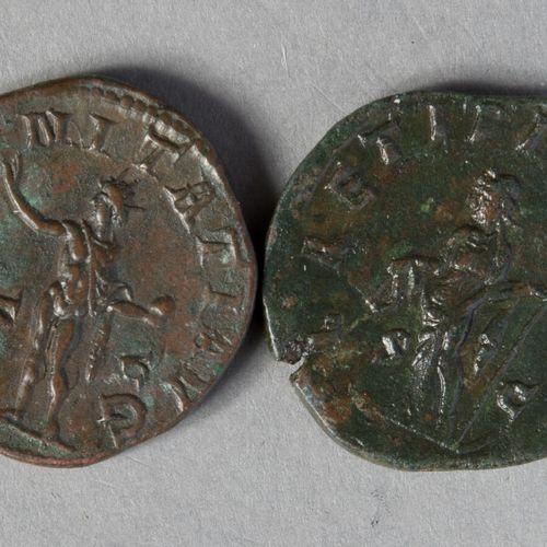 EMPIRE  GORDIEN III (241 243)  LOT de 2 SESTERCES   AETERNITATI et LAETITIA AVG …