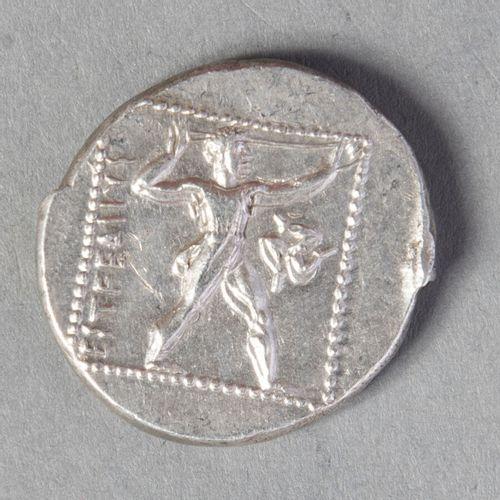 PAMPHYLIE ASPENDOS :   STATERE en argent frappé entre 370 et 333  10gr84  S 5396…