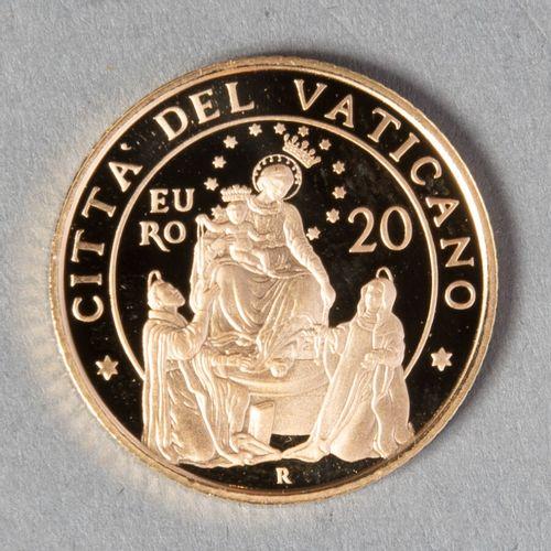 VATICAN  20 € 2015 (Pape Francois) proof  6gr05  FDC