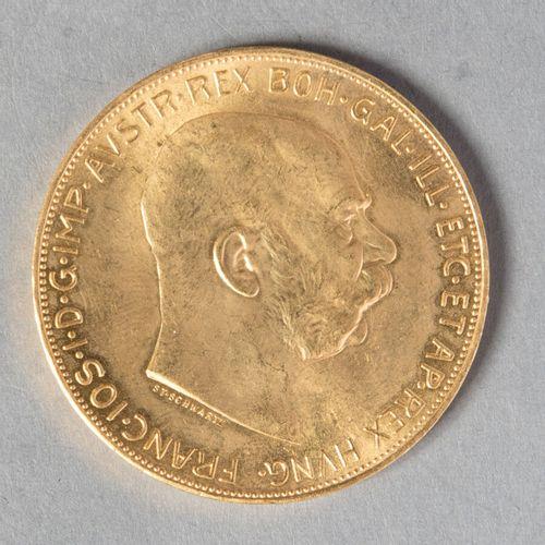 AUTRICHE  100 COURONNES 1915 (refrappe)  33 gr 86  KM 2819  FDC