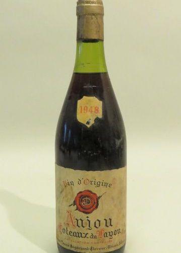 Anjou, Coteaux Du layon, Vallée De La Loire, vintage 1948. 1 BTL (Niv. LB; étiq.…