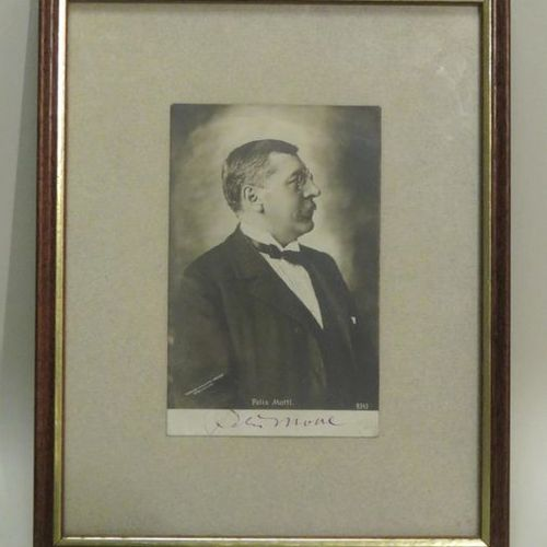 Albuminated photographic print featuring Felix MOTTI (1856 1911), Austrian condu…