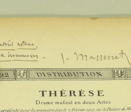 ThéRèSE (1792 1793), Drame Musical en Deux Actes, par Jules CLARETIE, Musique de…