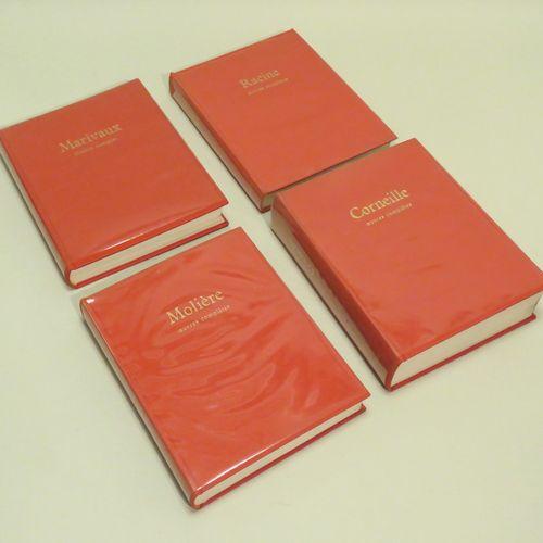 ŒUVRES COMPLèTES, Préface de Pierre CLARAC. Ensemble de quatre ouvrages, compren…
