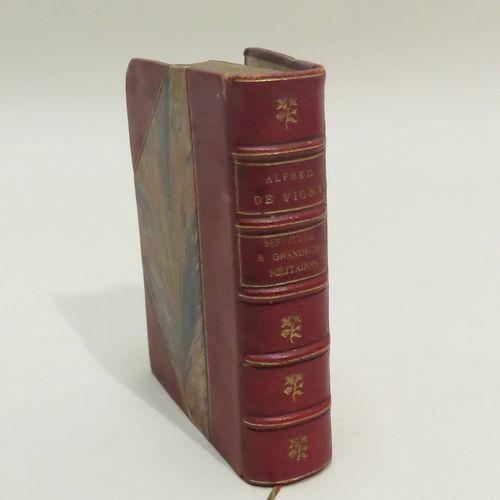 SERVITUDE ET GRANDEUR MILITAIRES, par Le Comte Alfred DE VIGNY, avec deux dessin…
