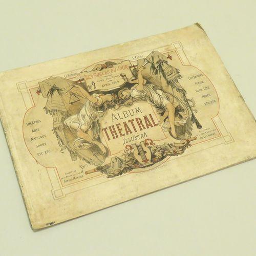LES SUCCèS DU JOUR ALBUM THEATRAL (N°2) Illustré, avril 1869. Contenant texte et…