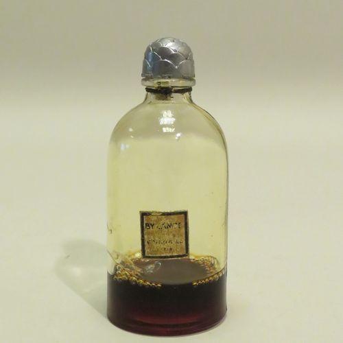 GRENOVILLE « Byzance »  Flacon en verre de forme bouillotte, étiquette dorée, ti…