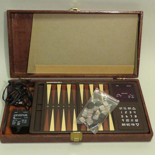 Coffret de jeu de Backgammon électronique