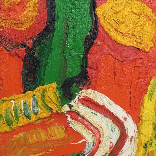 Bengt LINDSTRÖM (1925 2008). Composition. Huile sur toile, signée en bas à gauch…