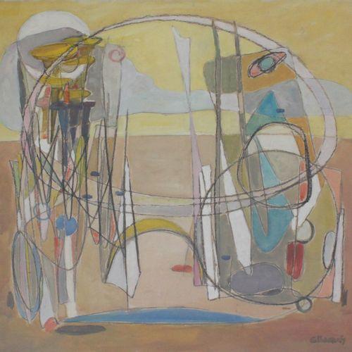 """Francesc Garcia ESTRAGUES (né en 1914). """"Don Quichotte et Sancho Panza"""". Crayon …"""