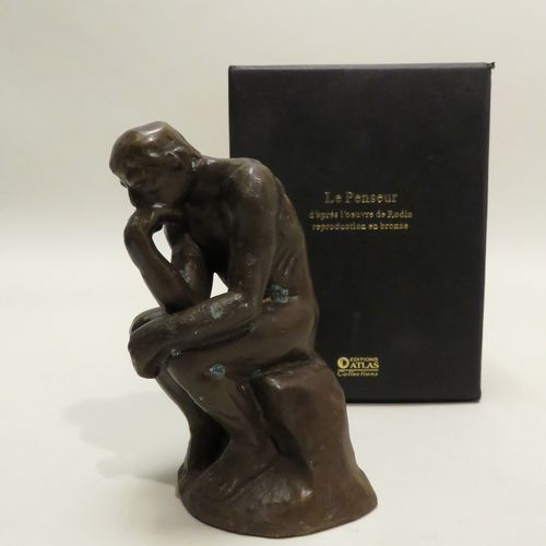 """Editions ATLAS, Collections. """"Le Penseur"""" d'après l'œuvre de RODIN. Reproduction…"""