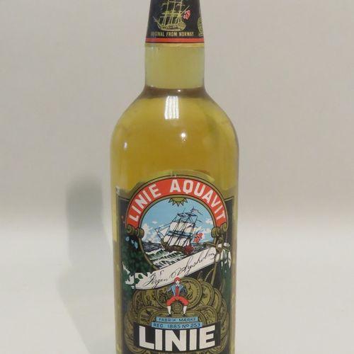 Linie Aquavit. 1 bottle of 1L.
