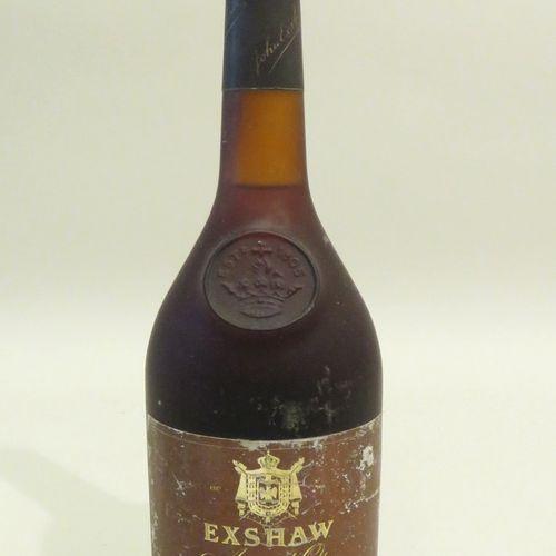 Cognac Exshaw, Age d'Or, Très Vielle Grande Champagne Premier Cru. 1 Flacon de 7…