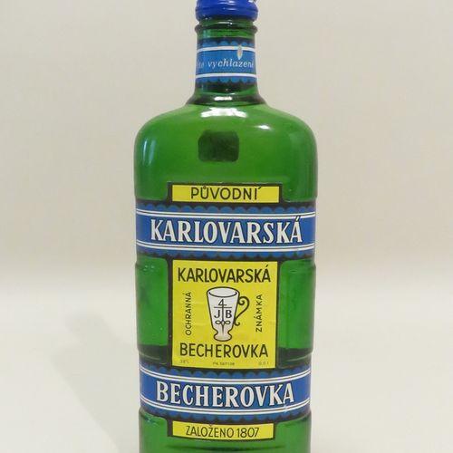 Karlovarska, Becherovka, Puvodni. 1 Flacon de 50 cl.