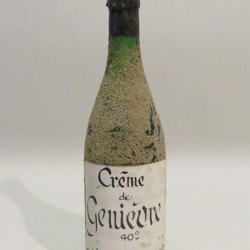 Crème de Genièvre. 1 Flacon de 70cl.