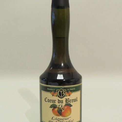 Cœur Du Breuil, Liqueur au Calvados. 1 Flacon de 35 cl.