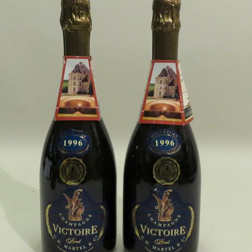 Victoire香槟,Brut,G.H.Martel & Co,年份1996。2个BTLS。