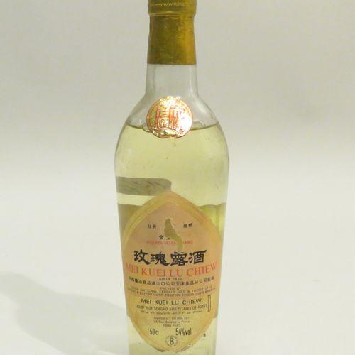 MEI KUEI LU CHIEW. Liqueur De Sorgho with rose petals. 1 Bottle of 50 cl.