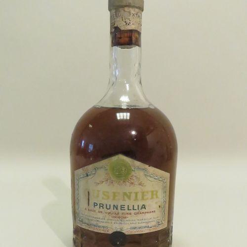 Cusenier, Prunellia, Vieille Fine Champagne. 1 bottle.
