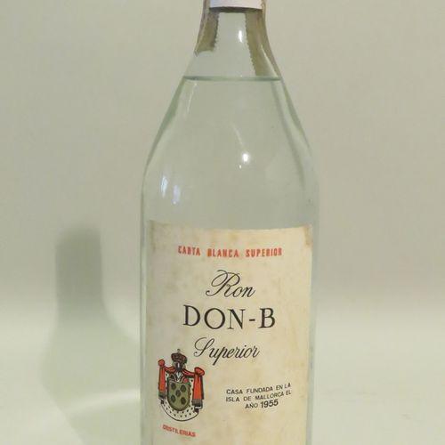 Ron DON B, Superior, Carta Blanca Superior. 1 Bottle of 100 cl.
