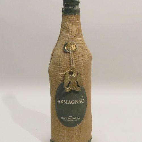 Armagnac Napoleon, Ducastaing. 1 bottle.