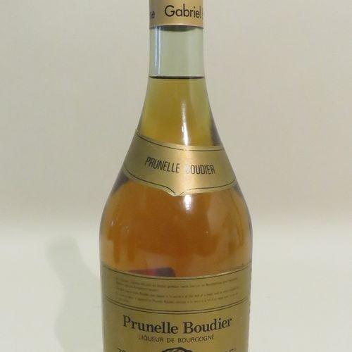 Prunelle Boudier, Liqueur de Bourgogne, Gabriel Boudier, Dijon. 1 Bottle of 70 c…