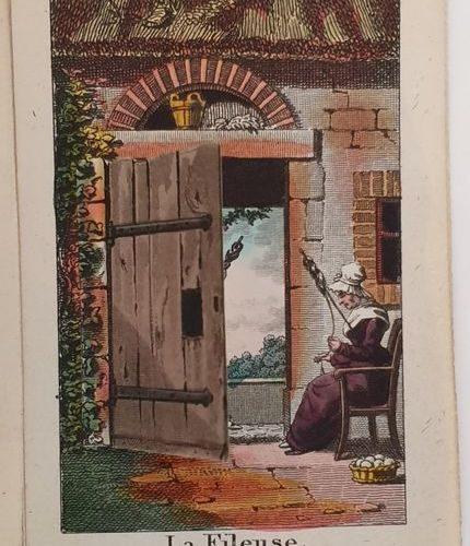DOORS CLOSED (The) or Double Surprises. S.L.N.A. [circa 1820]. In 32 (77 x 55 mm…