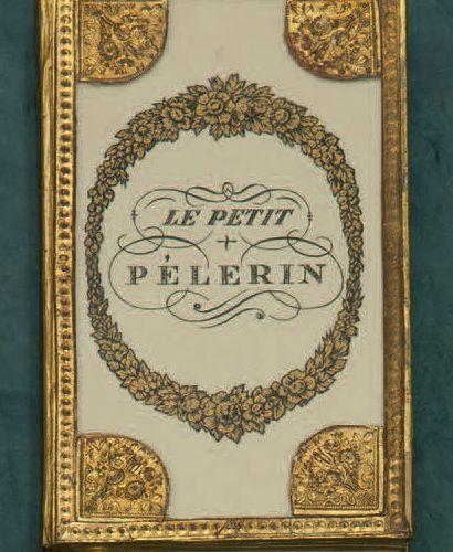 LITTLE PILGRIM (The). Paris, Louis Janet, n.D. [1822]. In 12, set under glass, o…