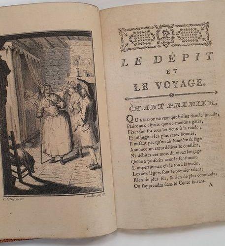 BASTIDE (Jean François de) Le Dépit et le voyage, poem, with notes, followed by …