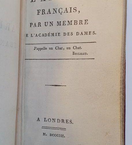 CURIOSA. NOGARET (Félix). L'Arétin français, par un membre de l'Académie des dam…