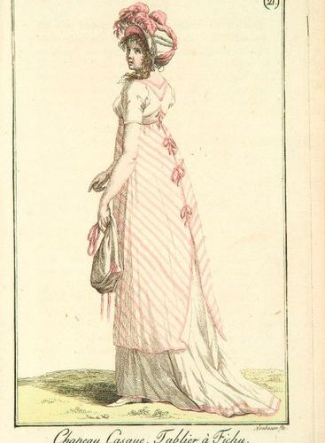 FASHION. JOURNAL DES DAMES ET DES MODES. S.L.N., 1798 1811. 54 volumes in 8, ora…