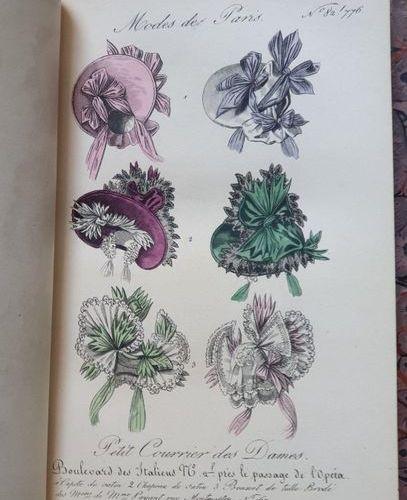 FASHION. PETIT COURRIER DES DAMES, Journal des modes. Paris, Au Bureau, 1831 189…