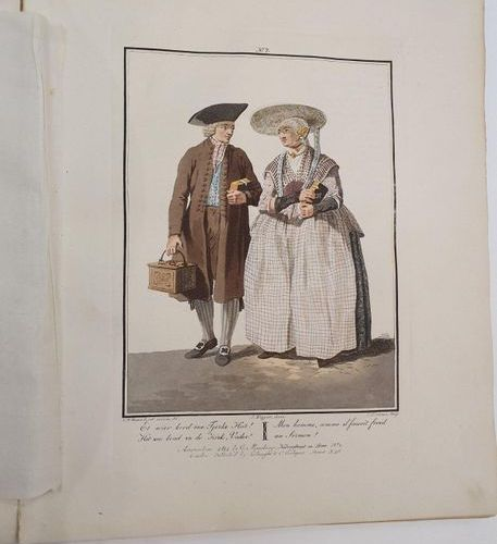 Pictures of clothing, manners and customs in Holland at the beginning of the nin…