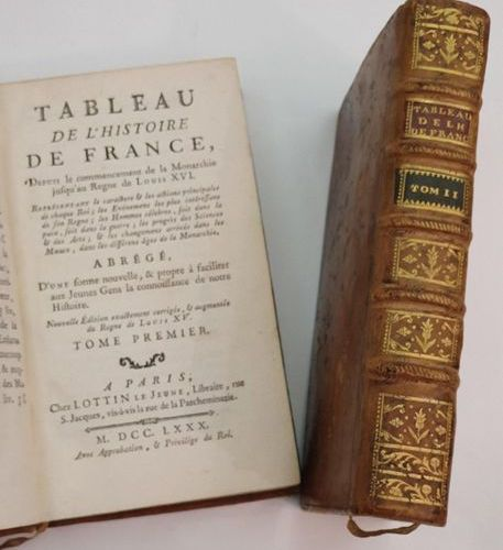 LOT OF 9 OLD BOOK VOLUMES: DECOURCELLE (Gilles). Government approved American el…